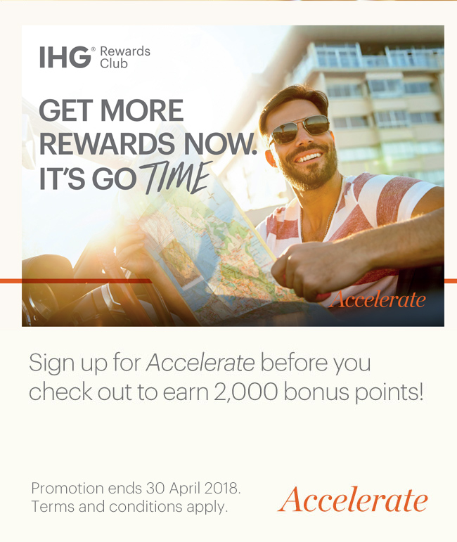 Accelerate with IHG Rewards Club