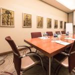 Oxford Boardroom seats up to 10 delegates around the Boardroom Table