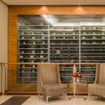 View from Reception of Wine collection